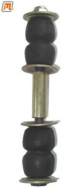 front axle - anti roll bar (sway bar) repair kit outer to tension strut  (9-pieces, per side, incl. standard bushings)