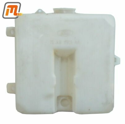 windscreen washer reservoir  (for electrical pump integrated in reservoir)