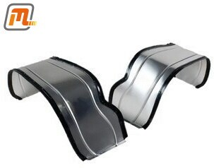interior mudguard set front retrofit  (alloy, protects against water, salt & stones, absoring driving noises)