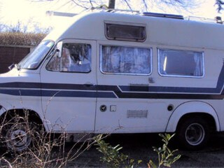 Witte Tonnie in 2003, Ford Transit MK1 FT175 V4 1.7ltr. bj. 1970